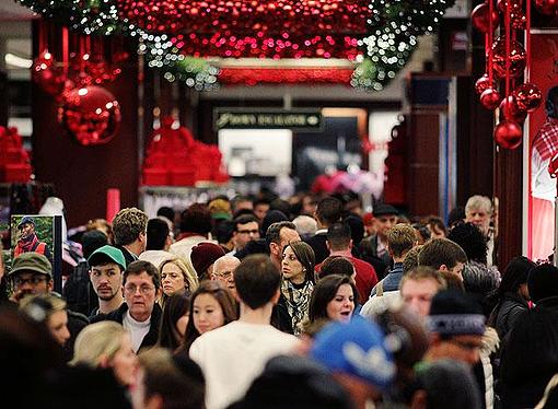 Holiday Shopping Retail